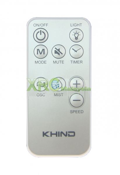 MF 160R KHIND COOLING MIST FAN REMOTE CONTROL KHIND FAN REMOTE CONTROL Johor Bahru JB Malaysia Manufacturer & Supplier | XET Sales & Services Sdn Bhd