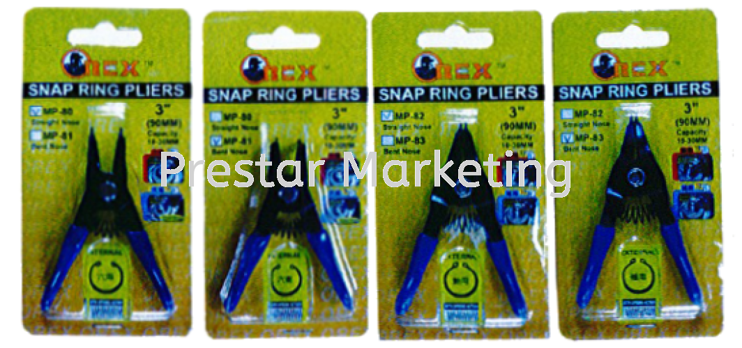 MP80 SERIES SNAP RING PLIERS