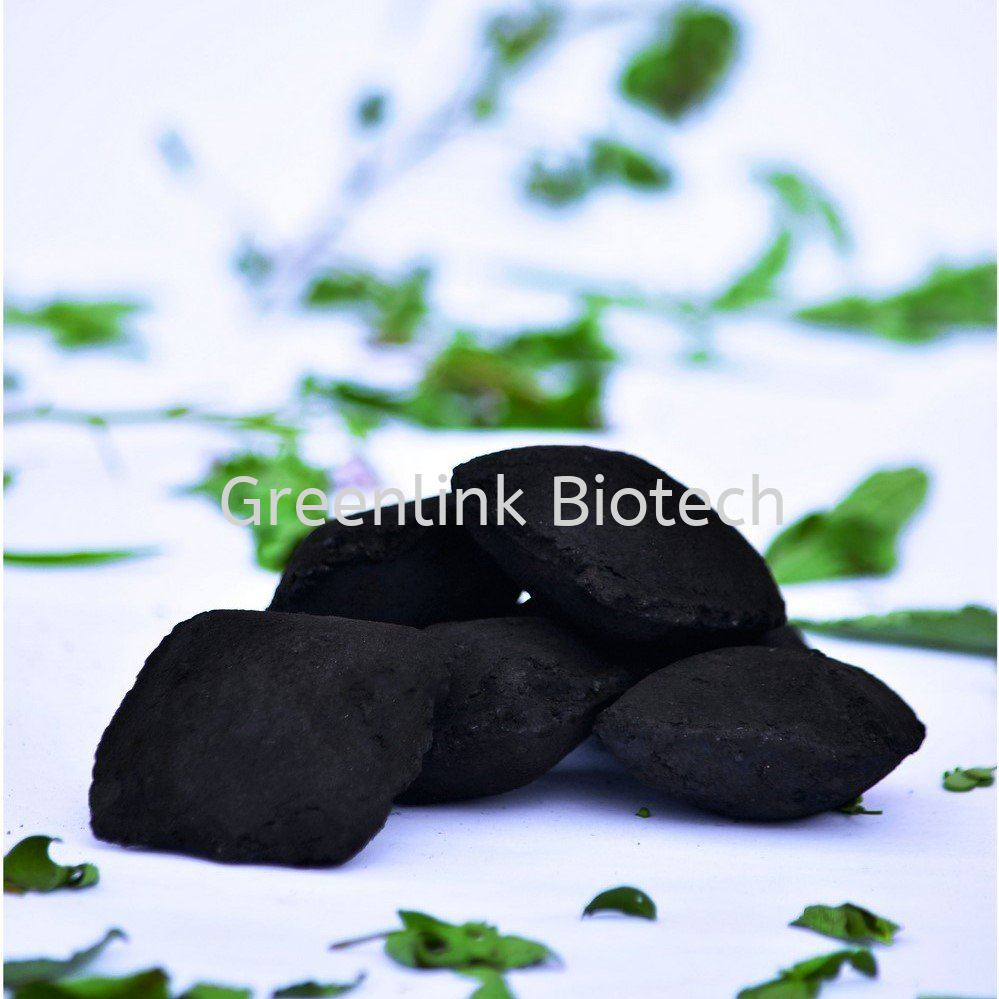 Pillow Shaped Charcoal Briquette Charcoal Malaysia, Perak Manufacturer, Supplier, Supply, Supplies | GREENLINK BIOTECH SDN BHD