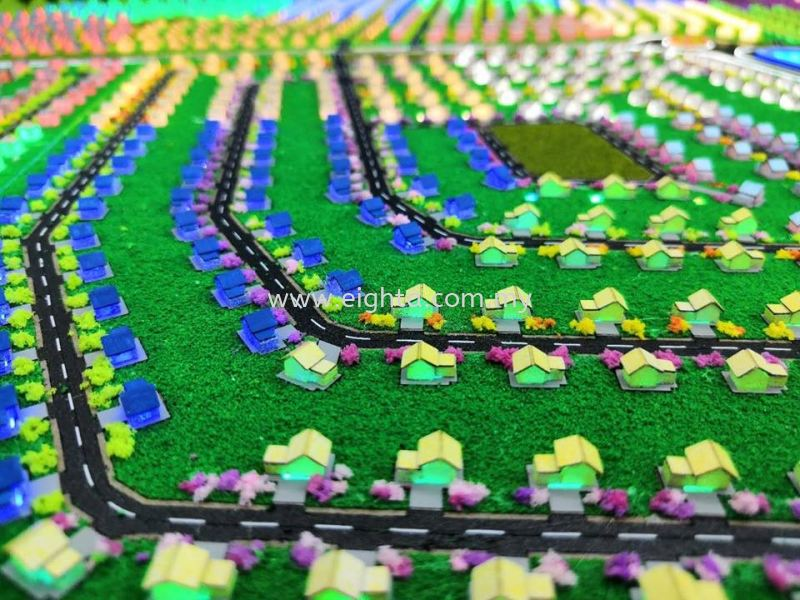 Soraya - Kulim (Master Layout) MBI Group Building Model Layout Malaysia, Penang Building, Model, Maker, Services | Eight A Model Sdn Bhd