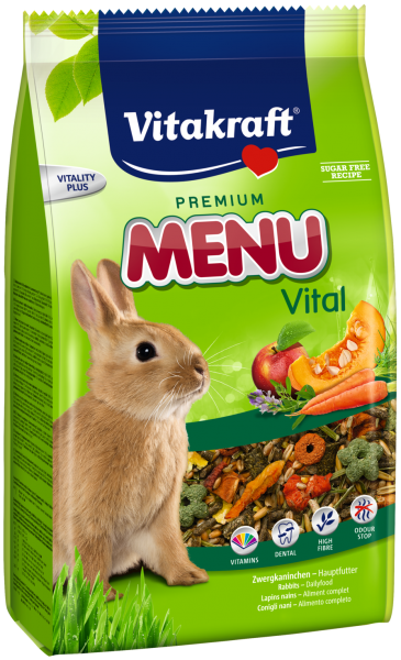 Vitakraft Premium Menu Vital Rabbit (1kg) Premium Menu Vital Small Animal Food Vitakraft Malaysia, Selangor, Kuala Lumpur (KL), Puchong Distributor, Supplier, Supply, Supplies | Progenesis Group Sdn Bhd