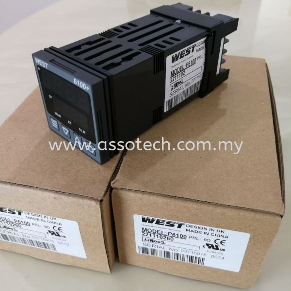 WEST Temperature Controller, P6100-2100002 WEST Instruments Penang, Malaysia, Bayan Baru Supplier, Suppliers, Supply, Supplies | Assotech Resources