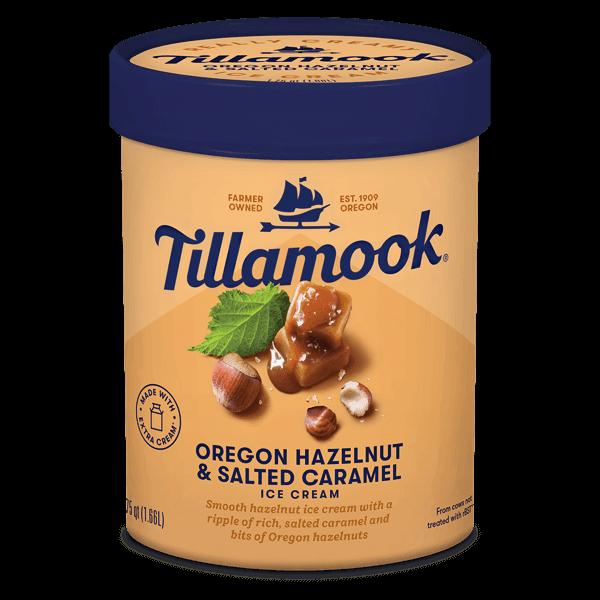 Tillamook Oregon Hazelnut & Salted Caramel 1.66L Tillamook  Premium Ice Cream  Kuala Lumpur (KL), Selangor, Malaysia Supplier, Supply, Supplies, Distributor | Five Star Gourmet Sdn Bhd