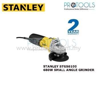 STANLEY STGS6100 680W SMALL ANGLE GRINDER Stanley Power Tools Grinders Johor Bahru (JB), Malaysia, Skudai Supplier, Suppliers, Supply, Supplies | Protools Hardware Sdn Bhd
