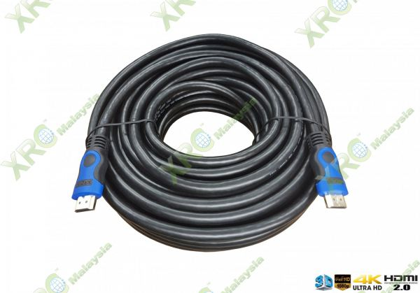 15 METER 3D HD 4K x 2K VERSION 2.0 HDMI CABLE HDMI CABLE CABLE PRODUCT Johor Bahru JB Malaysia Manufacturer & Supplier   XET Sales & Services Sdn Bhd