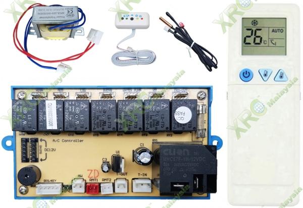 QD-U30AG UNIVERSAL AIR CONDITIONING CPU PCB BOARD PCB BOARD AIR CONDITIONING SPARE PARTS Johor Bahru JB Malaysia Manufacturer & Supplier | XET Sales & Services Sdn Bhd