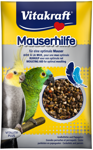Vitakraft Moulting Aid for Parrot and Cockatiel Moulting Aid Bird Food Vitakraft Malaysia, Selangor, Kuala Lumpur (KL), Puchong Distributor, Supplier, Supply, Supplies | Progenesis Group Sdn Bhd