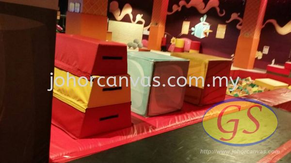 Gymnastic Foam with Cover S Products Application Johor Bahru (JB), Malaysia, Larkin Supplier, Manufacturer, Supply, Supplies   Guan Seng Canvas Sdn Bhd