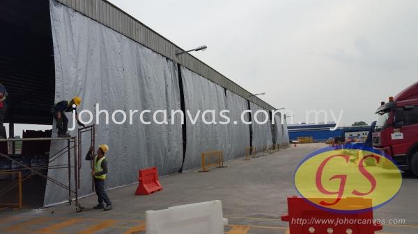Store Curtain Products Application Johor Bahru (JB), Malaysia, Larkin Supplier, Manufacturer, Supply, Supplies   Guan Seng Canvas Sdn Bhd