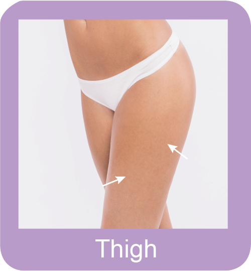Thigh Hair Removal Large Area Permanent Hair Removal Selangor, Malaysia, Kuala Lumpur (KL), Subang Jaya, Mid Valley City Hair Removal Treatment | Hairy Mary