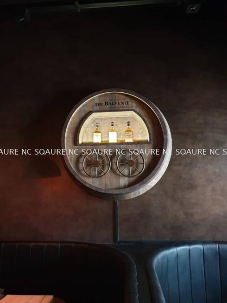 Balvenie Cooperage  Window & Product Display Selangor, Malaysia, Kuala Lumpur (KL), Seri Kembangan Services, Design, Consultant   NC SQUARE ADVERTISING SERVICES