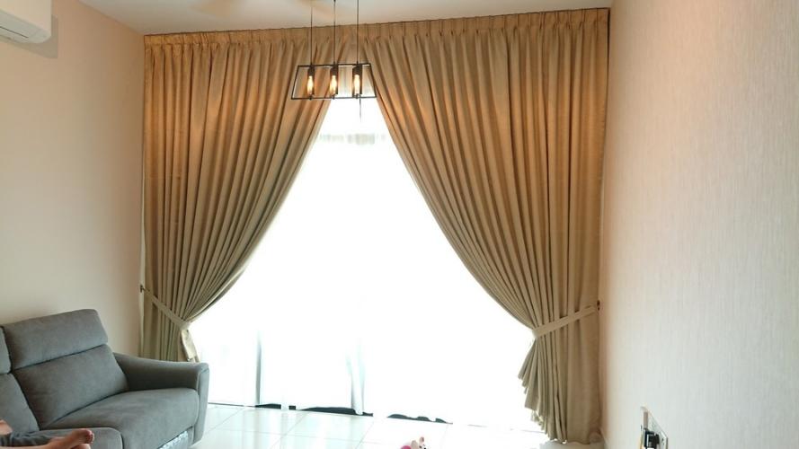 Luxez Hotel Sateen Curtains / Langsir Hotel