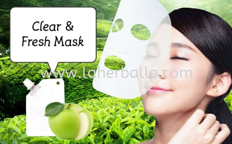 Facial Mask : Clear & Fresh Mask ( 5 Session + free gift ) Facial Package Session In-House Treatment Kuala Lumpur (KL), Selangor, Penang, Malaysia Supplier, Suppliers, Supply, Supplies   La Herballe