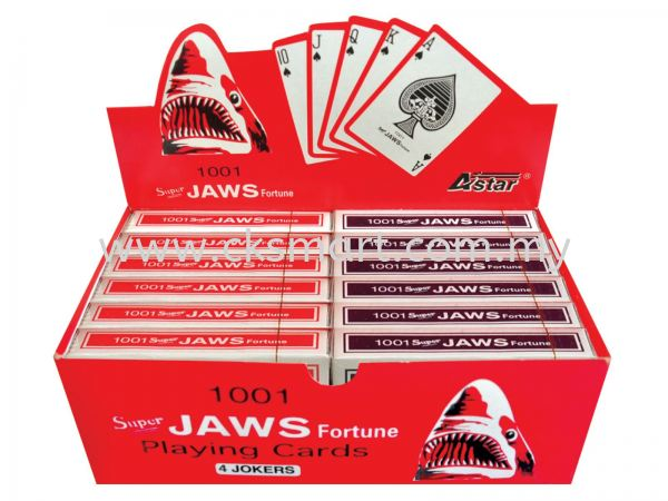 1001 JAWS PLAYING CARDS Others Johor Bahru (JB), Malaysia, Skudai Supplier, Suppliers, Supply, Supplies | CK Smart Trading