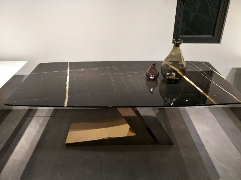 Black Marble Dining Table Marble Dining Table Selangor, Kuala Lumpur (KL), Malaysia Supplier, Suppliers, Supply, Supplies | DeCasa Marble Sdn Bhd