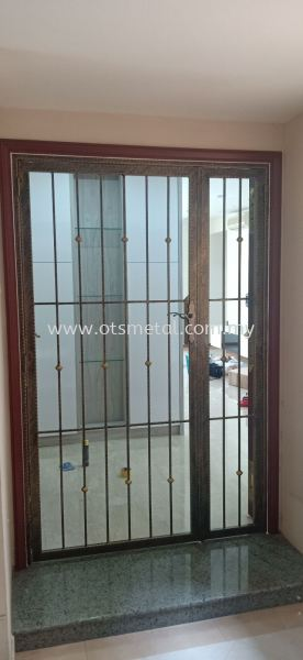 MD 009 Metal Door (Grill) Johor Bahru (JB), Skudai  Design, Supplier, Supply | OTS Metal Works
