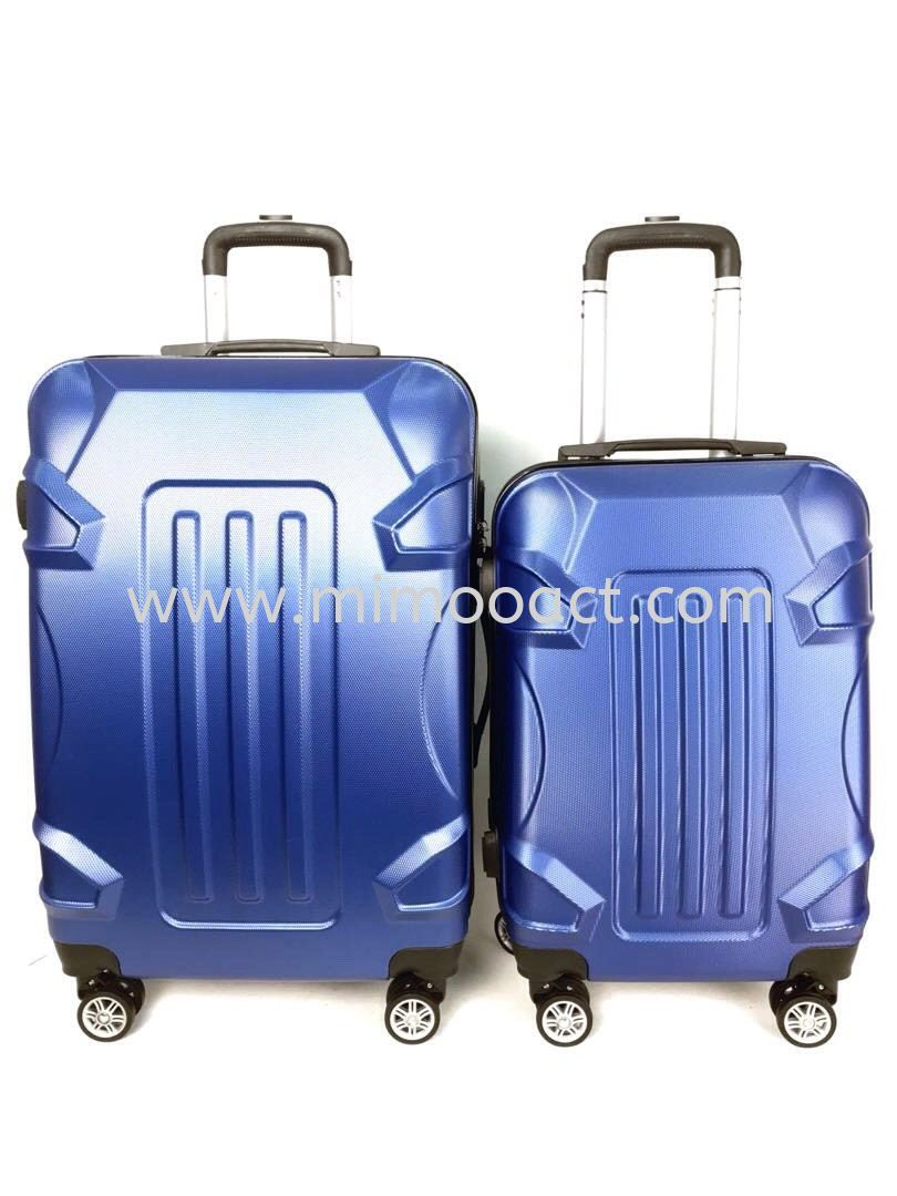 ABS701 Blue Hardcase Luggage Luggage Bag Current Bags Series Malaysia, Selangor, Kuala Lumpur (KL), Shah Alam Wholesaler, Manufacturer, Supplier, Supply | Mimoo Act Sdn Bhd