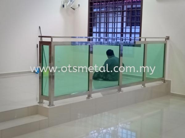 SG005 Stainless Steel Glass Johor Bahru (JB) Design, Supplier, Supply | OTS Metal Works
