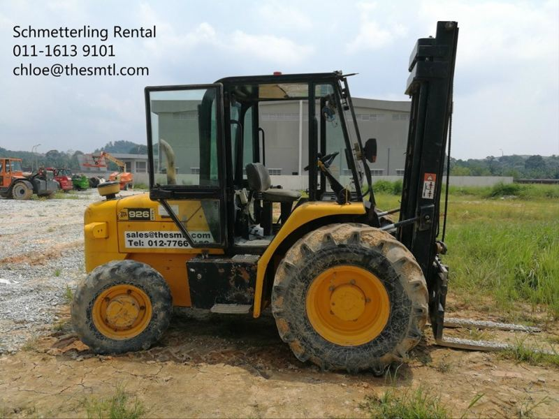926 ROUGH TERRAIN FORKLIFT Forklift Sale Singapore, Malaysia, Johor, Pekan Nanas Supplier, Supply, Supplies, Rental | Schmetterling Rental Sdn Bhd