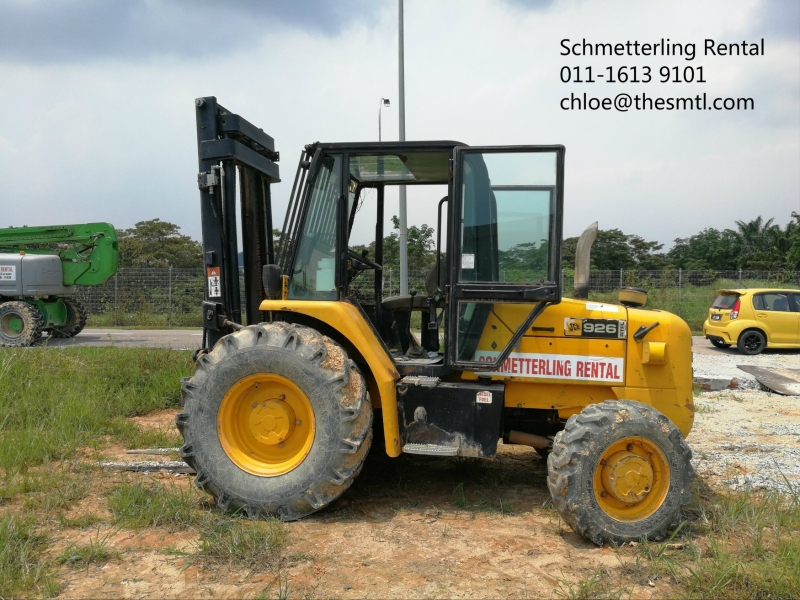926 ROUGH TERRAIN FORKLIFT Rough Terrain Forklift Rental Singapore, Malaysia, Johor, Pekan Nanas Supplier, Supply, Supplies, Rental | Schmetterling Rental Sdn Bhd