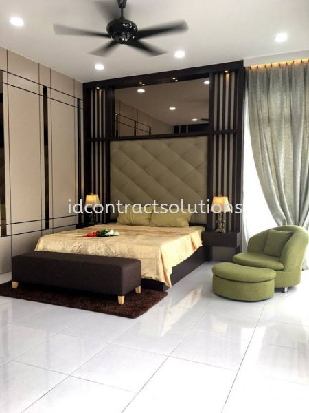 Tangkak Show Unit Residential Interior Design Melaka, Selangor, Malaysia, Kuala Lumpur (KL), Shah Alam Service | ID Contract Solutions Sdn Bhd