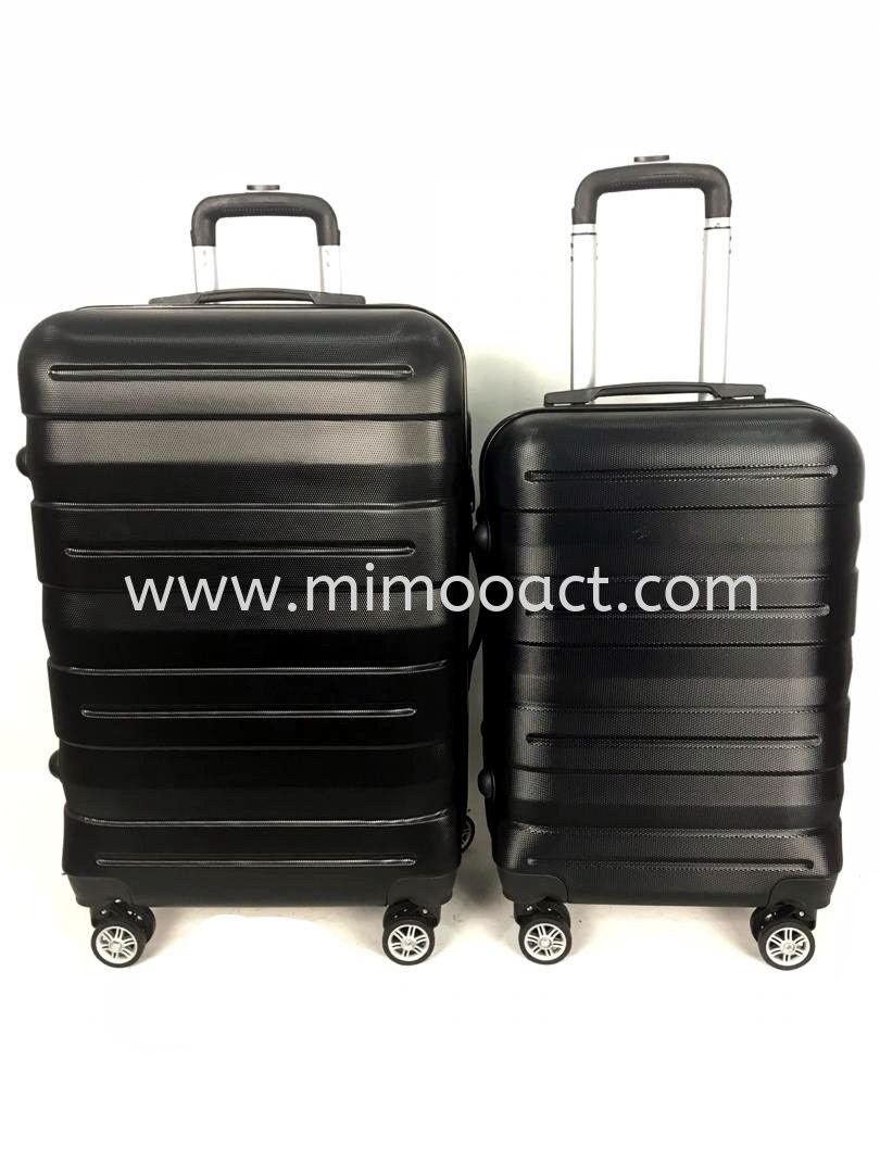 ABS1010 Black Hardcase Luggage Luggage Bag Current Bags Series Malaysia, Selangor, Kuala Lumpur (KL), Shah Alam Wholesaler, Manufacturer, Supplier, Supply | Mimoo Act Sdn Bhd