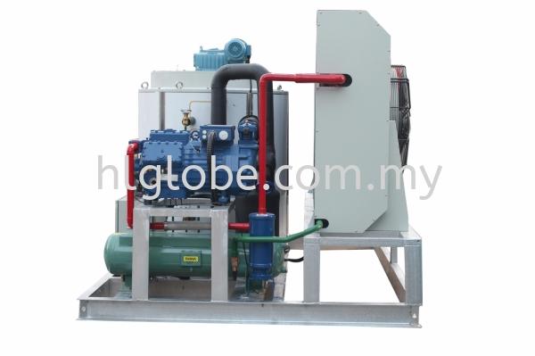 Flake Ice Condensing System 8Ton per Day Flake Ice Machine Negeri Sembilan, Malaysia, Port Dickson Supplier, Suppliers, Supply, Supplies | HL Globe Air Cond Sdn Bhd