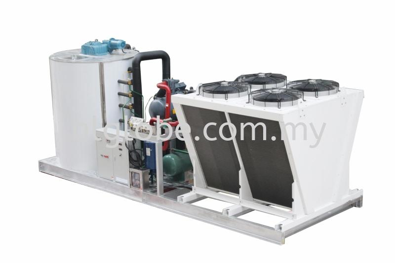 Flake Ice Condensing System 15Ton per Day Flake Ice Machine Negeri Sembilan, Malaysia, Port Dickson Supplier, Suppliers, Supply, Supplies | HL Globe Air Cond Sdn Bhd