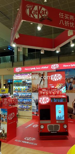 KitKat Promotion Booth  Roadshow Booth Booth Design Selangor, Malaysia, Kuala Lumpur (KL), Seri Kembangan Services, Design, Consultant | NC SQUARE ADVERTISING SERVICES