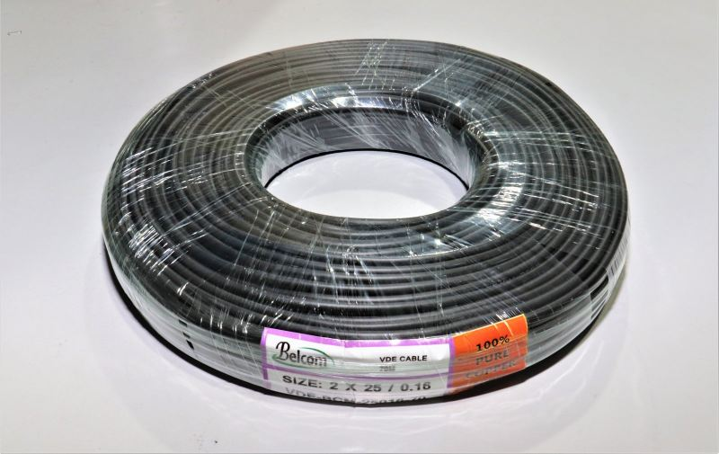 VDE BELCOM 25X0.16 BC 70M/100M/300M VDE Cable VDE and Flexible Cable Kota Kinabalu    Startech IT Sdn Bhd