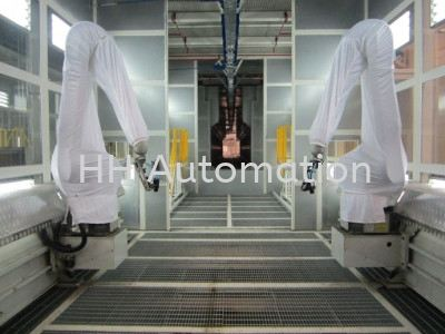 Painting Robots Painting Robots Robotic Intelligent System Selangor, Malaysia, Kuala Lumpur (KL), Klang Supplier, Manufacturer, Supply, Supplies   HH Automation Sdn Bhd