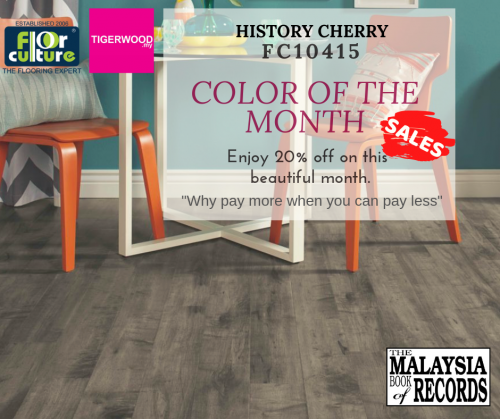 [May 2019] Color of The Month- FC 10415 History Cherry