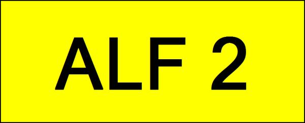 Number Plate ALF2 VVIP Plate Johor Bahru (JB), Kuala Lumpur, KL, Malaysia. Service | AAA Premium Sdn Bhd