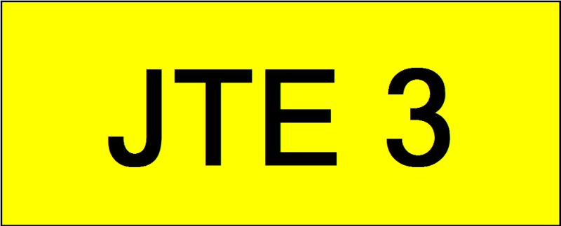 Number Plate JTE3 VVIP Plate Johor Bahru (JB), Kuala Lumpur, KL, Malaysia. Service   AAA Premium Sdn Bhd