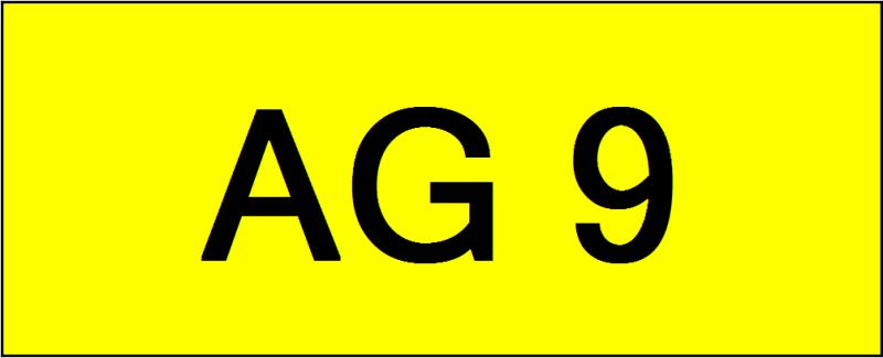Number Plate AG9 Superb Classic Plate Johor Bahru (JB), Kuala Lumpur, KL, Malaysia. Service | AAA Premium Sdn Bhd
