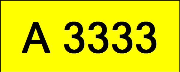 Number Plate A3333 Rare Classic Plate Johor Bahru (JB), Kuala Lumpur, KL, Malaysia. Service | AAA Premium Sdn Bhd