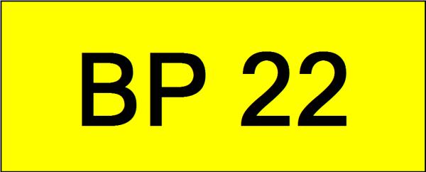 Number Plate BP22 Superb Classic Plate Johor Bahru (JB), Kuala Lumpur, KL, Malaysia. Service | AAA Premium Sdn Bhd