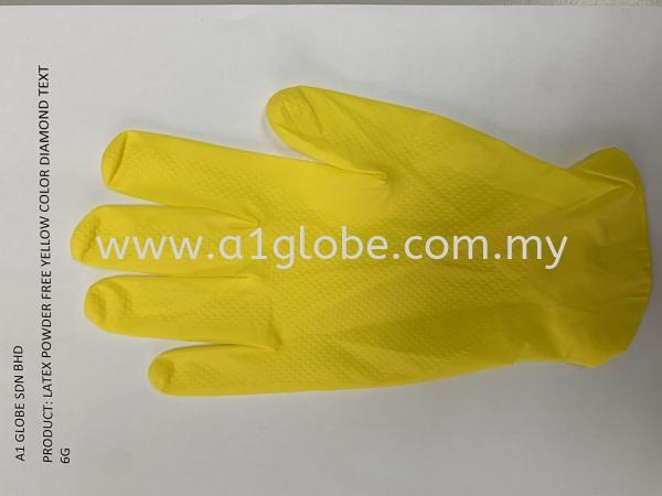 latex powder free polymer yellow diamond grip Others Malaysia, Negeri Sembilan, Selangor, Kuala Lumpur (KL), Thailand, China Manufacturer, Supplier, Supply, Supplies | A1 Globe Sdn Bhd