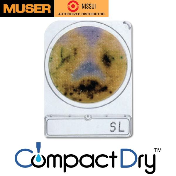 CompactDry SL [Salmonella species] CompactDry Nissui Pharmaceutical Kuala Lumpur (KL), Malaysia, Selangor, Sunway Velocity Supplier, Suppliers, Supply, Supplies | Muser Apac Sdn Bhd