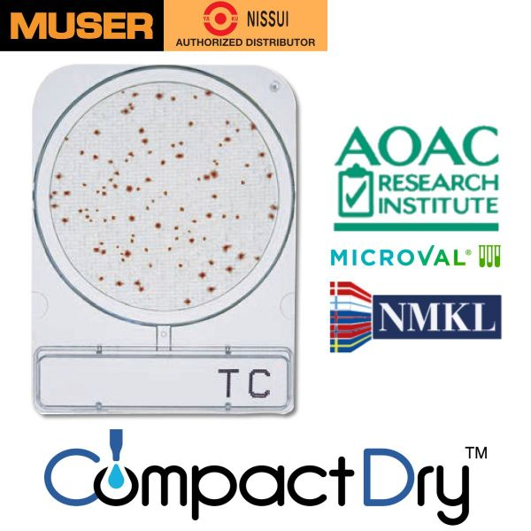 CompactDry TC [Total Viable Count] CompactDry Nissui Pharmaceutical Kuala Lumpur (KL), Malaysia, Selangor, Sunway Velocity Supplier, Suppliers, Supply, Supplies | Muser Apac Sdn Bhd