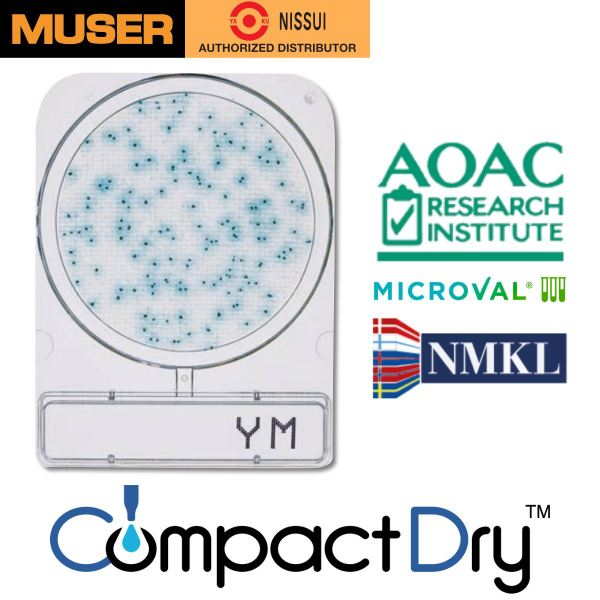 CompactDry YM [Yeast & Mold] CompactDry Nissui Pharmaceutical Kuala Lumpur (KL), Malaysia, Selangor, Sunway Velocity Supplier, Suppliers, Supply, Supplies | Muser Apac Sdn Bhd