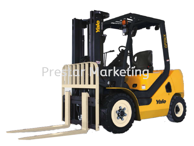 YALE GP20-30UX - INTERNAL COMBUSTION COUNTERBALANCED FORKLIFT (2000 - 3000 KG)