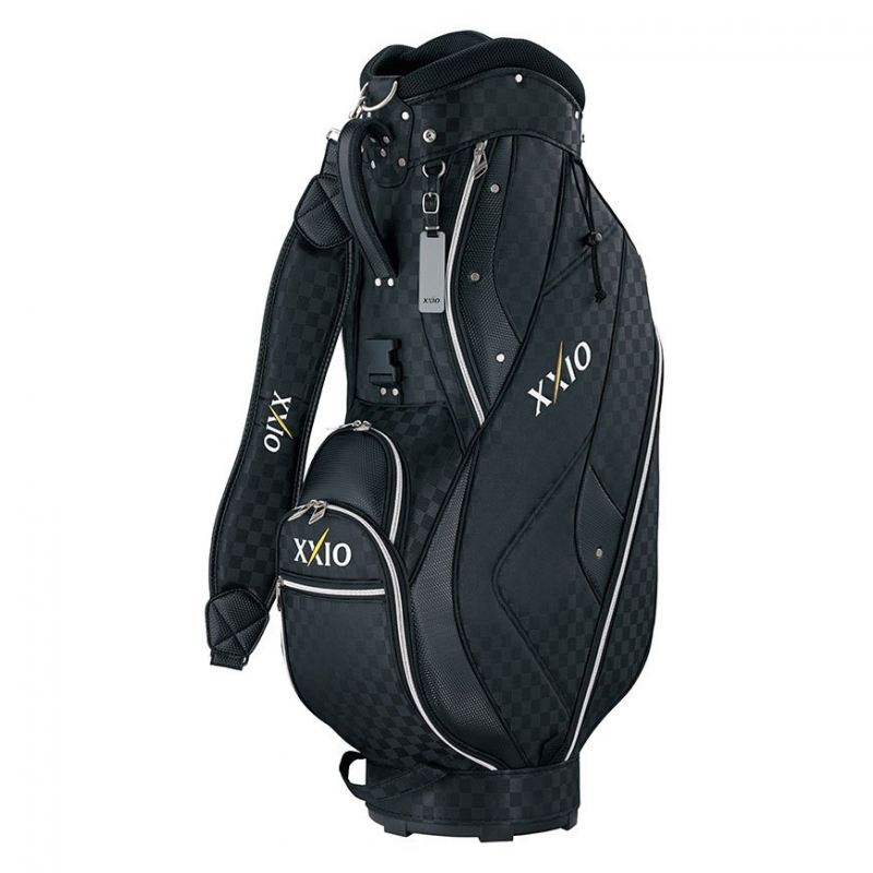 XXIO LIGHTWEIGHT CART BAG COLOR BLACK CHECK DESIGN