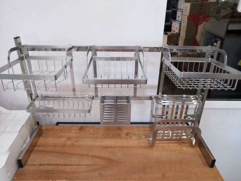 Model-900mm(7pcs) S/Steel Rack Kitchen Accessories Penang, Pulau Pinang, Butterworth, Malaysia. Supplier, Suppliers, Supplies, Supply | Boon Leng Hardware Trading Sdn Bhd