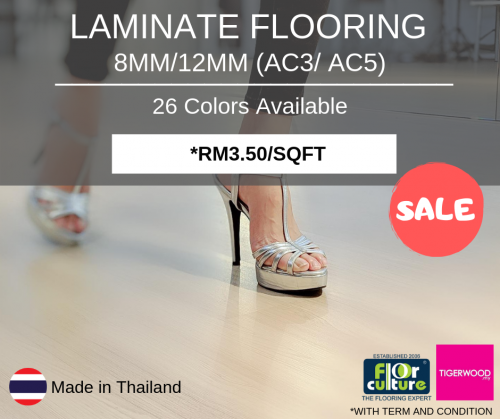 LAMINATE FLOORING PROMOTION
