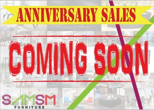 ANNIVERSARY SALES COMING SOON