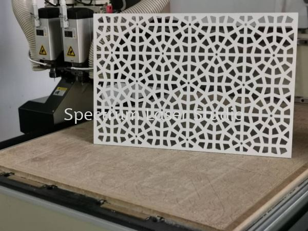 PCV White Form Router Cutting Kuala Lumpur (KL), Malaysia, Selangor, Kepong Services | Spectrum Laser Studio