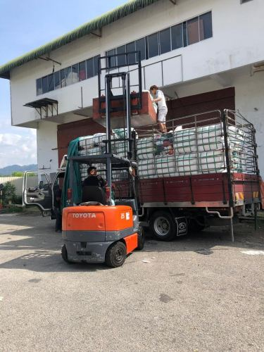 20.05.2019 Loading bundle to customer's lorry
