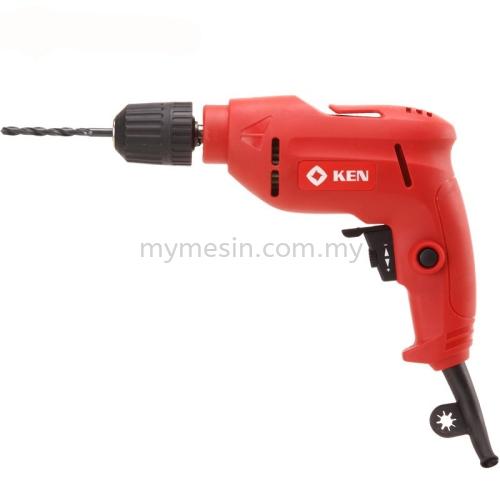 """Ken 6520JER 3/8"""" 580W Hand Drill(Keyless Chuck)  Code:9577"""