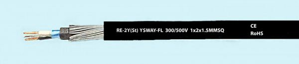 RE-2Y(ST)YSWA-FL Instrumentation Cable Malaysia, Selangor, Kuala Lumpur (KL), Subang Jaya Supplier, Distributor, Supply, Supplies | EIE Industrial Products Sdn Bhd